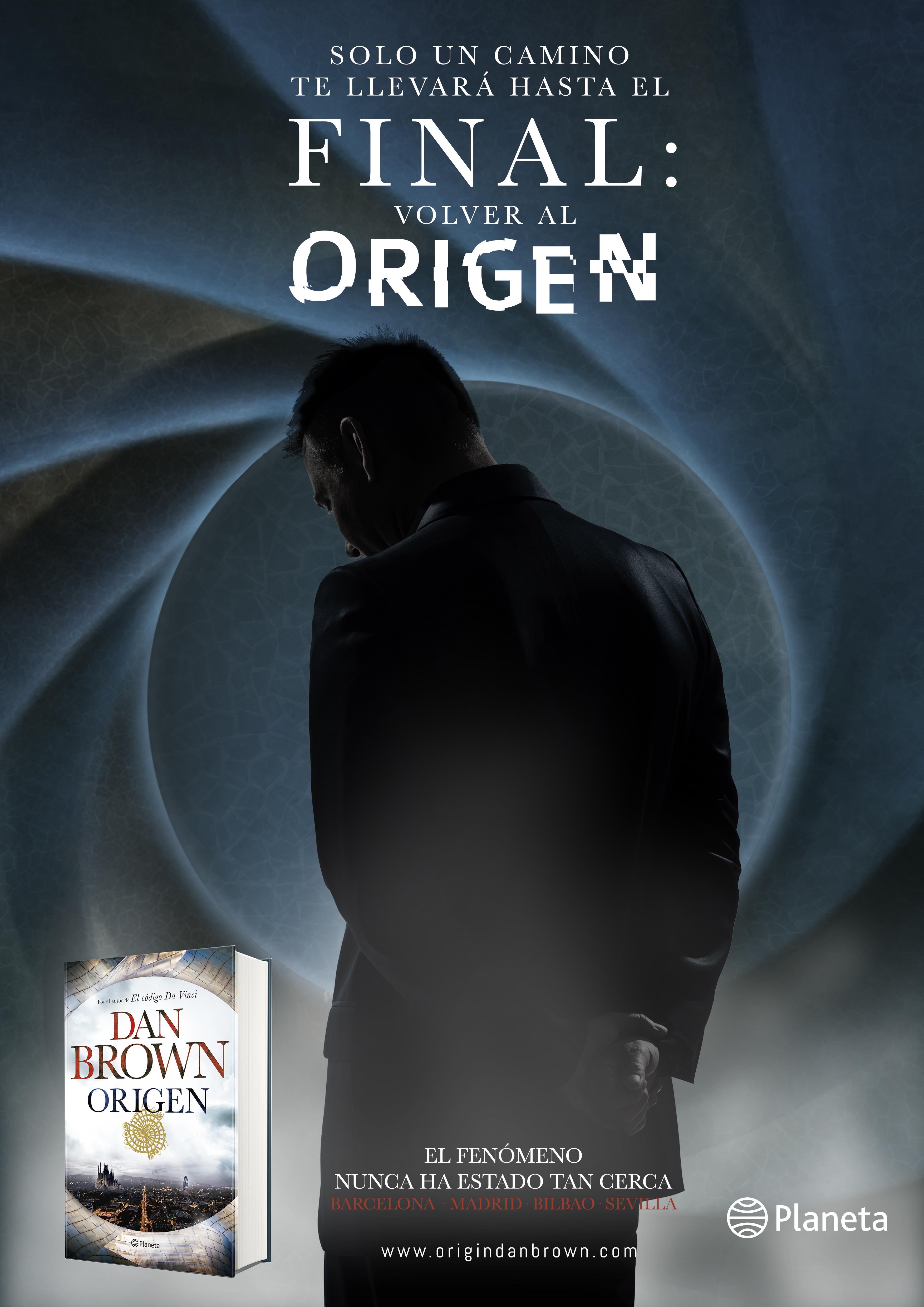 Planeta · Dan Brown's Origin Campaign